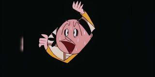 古いアニメによくある「黒い円が小さくなってキャラがトホホ…と言って終わる」演出にはカッコイイ名前があるんだけど知ってた? - Togetter