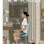 「上半身さえどうにかすれば社会生活できる」アメリカの雑誌の表紙がめちゃくちゃ今の世相を表していて笑うけど「的確すぎ」 – Togetter