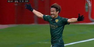 【朗報】岡崎慎司さん、リーガ今節ベストゴールに選出される : サカサカ10