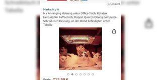 ドイツのAmazonでコタツが売っていたけど写真のインパクトが強くすぎて正しい使い方が伝わらない気がする - Togetter
