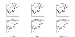 地球温暖化で魚は北上している!? 208漁港の魚種別漁獲量の時系列データをpythonで可視化 - 宙畑