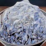 アニメ『美味しんぼ』で出てきた氷のセル画描写が超絶技巧すぎて質感がすごい「独特の美しさがある」技術の解説もあり – Togetter
