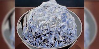 アニメ『美味しんぼ』で出てきた氷のセル画描写が超絶技巧すぎて質感がすごい「独特の美しさがある」技術の解説もあり - Togetter