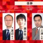 【朝日杯】藤井聡太二冠、2年ぶり3回目の優勝!|2ch名人