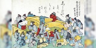 推しが世を去った時のファンの心境を描いた浮世絵がいかにも日本人って感じがする「わかるわあ…」「ファンは時代に対して不変」 - Togetter
