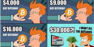 ビットコインの時価総額100兆円台乗せ、出川組からPornhub組までみんな余裕の含み益に : 市況かぶ全力2階建