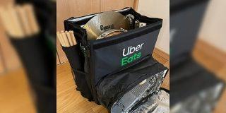 Uber Eatsのあのバッグ(通称ウバッグ)、ドラムセット・DJ機材・災害グッズなどめちゃ広い用途に使えて万能「ウバッグ最強か?」 - Togetter