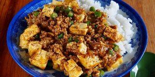 中華なカレー味で白飯食べすぎちゃう「マーボー風キーマカレー」は崩れにくい焼き豆腐推奨 - メシ通