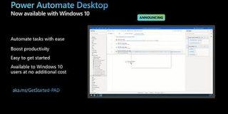[速報]マイクロソフト、無料でRPA機能「Power Automate Desktop」をWindows 10ユーザーに提供開始 - Publickey