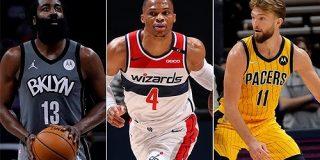 再び新記録更新、1日に6選手がトリプルダブル | NBA日本公式サイト