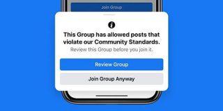 Facebook、偽情報対策でグループ規制を強化 違反が多いと削除も - ITmedia