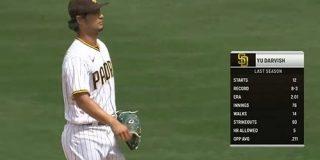 【MLB】ダルビッシュ、4年ぶり開幕投手も勝利投手の権利へあと1死足らず 5回途中8安打4失点降板 : なんじぇいスタジアム