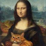 太った猫を有名絵画とコラボさせている作品がめっちゃ可愛くて眼福「ゴッホの星月夜が猫月夜に(笑)」 – Togetter