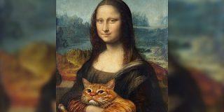 太った猫を有名絵画とコラボさせている作品がめっちゃ可愛くて眼福「ゴッホの星月夜が猫月夜に(笑)」 - Togetter
