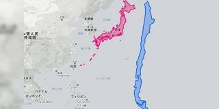 「これなら東西分裂も可能だ」細長い国として有名なチリを日本と比較してみると意外なことが判明した - Togetter