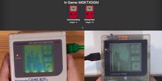 初代ゲームボーイを改造してオンラインマルチプレイ、まずはテトリス   TechCrunch