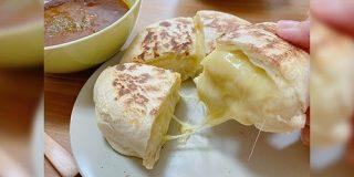 無印良品のナンミックスで作る『チーズナン』は罪深い味がしそう「らくらく便利にお店のナン作れるのずるい、欠点なんて何も無い」 - Togetter