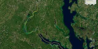 雨がどんなルートを通って海に流れ着くのかシミュレートできる「River Runnner」 - GIGAZINE