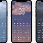 アップルが(ついに)天気アプリをアップデート、ダイナミックな背景や天気図、詳しいデータを提供   TechCrunch