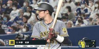 【朗報】規定到達した阪神タイガース中野拓夢くん(25) : なんじぇいスタジアム