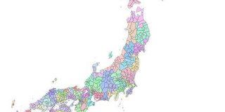 明治中期の国・郡で分けた日本地図、無償でデータ公開 「Google マイマップ」版も - ITmedia