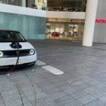 HONDAのEV「Honda e」をよりによってNISSANのグローバル本社で充電する猛者が現れてしまう – Togetter