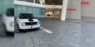 HONDAのEV「Honda e」をよりによってNISSANのグローバル本社で充電する猛者が現れてしまう - Togetter