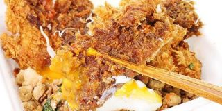ザクッ&ジュワッなチキンカツに本格タイ料理のピリ辛ガパオを合わせたかつや「鶏ガパオダブルチキンカツ丼」試食レビュー - GIGAZINE