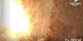 Blue Origin初の有人飛行成功、ベゾス氏ら4人が宇宙を体験 | TechCrunch