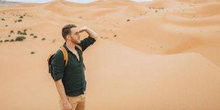 サハラ砂漠で9日間も遭難した男性はどうやって1人で生き延びたのか? - GIGAZINE