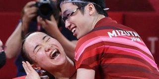 《卓球》元相棒の本音「悔しいけど、美誠は水谷さんと組んだ方がいい」なぜ伊藤美誠20歳と水谷隼32歳は相性抜群なのか  - ナンバー