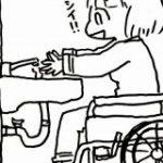 公共施設などで見かける『配管が見えるタイプの洗面台』には意味がある!車椅子生活でわかったこと – Togetter