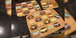 今まで作った中で一番人気だったクッキー。パンツの柄を考えると大体の悩みは消える「悩みの消し方」「貰ったら笑っちゃう」 - Togetter