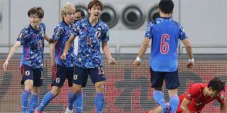 【海外の反応】「心配だ」日本代表、大迫のゴールで中国に勝利!久保建英が別格のプレーで貢献!最終予選初白星も海外のファンから厳しい声! | NO FOOTY NO LIFE