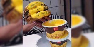 ブラジルのマクドナルドにはハンバーガーをチーズにディップするというデブの夢みたいな食べ方が出来るメニューがあるらしい「地球の裏側スゲェ」 - Togetter
