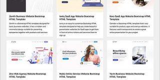 商用でも完全無料、ランディングページ用のHTMLテンプレートがダウンロードできる -Inovatik | コリス