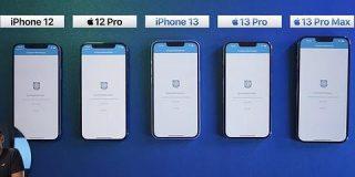 【画像】iPhone 13、13 Pro、12、12 Proのベンチマーク比較がこちら : IT速報