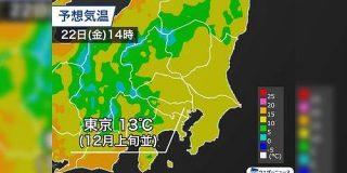 関東は明日から「初冬の寒さ」と聞いて震える…「令和の秋はどこにいった」「服どうしよう」など - Togetter